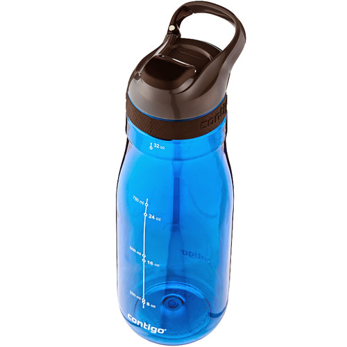 Contigo AUTOSEAL Cortland Water Bottle (32 fl oz, Monaco)