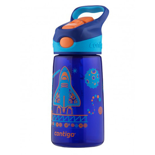 Contigo AUTOSPOUT Striker Kid's Bottle (14 fl oz, Sapphire Blast Off)