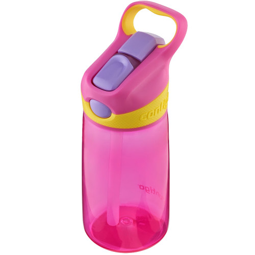 Contigo AUTOSPOUT Striker Kid's Bottle (14 fl oz, Petal)
