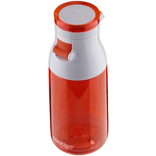 Contigo Jackie Kids Water Bottle (17 fl oz, Tango Pink)