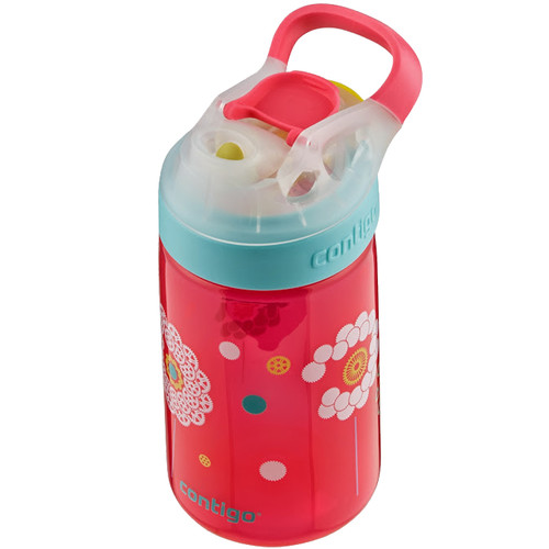 Contigo 14oz AUTOSEAL Gizmo Sip Kids Water Bottle (Cherry Blossom / Dandelions)