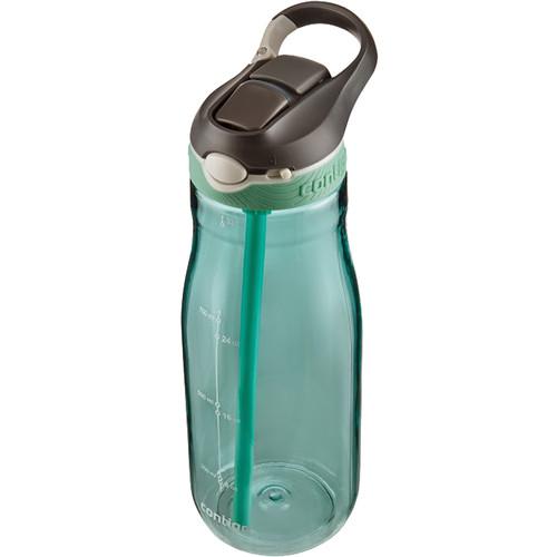 Contigo AUTOSPOUT Ashland Water Bottle (32 fl oz, Grayed Jade)