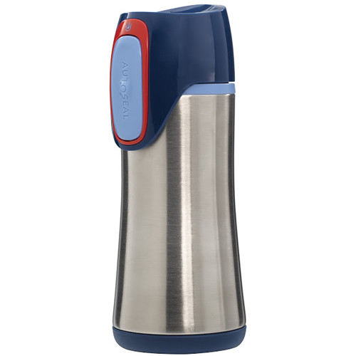 Contigo AUTOSEAL Scout Kids Stainless Bottle (12 fl oz, Cobalt)