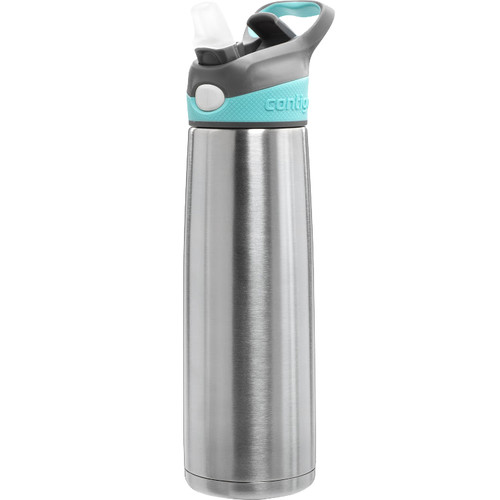 Contigo AUTOSPOUT Sheffield Stainless Water Bottle (20 fl oz, Ocean)