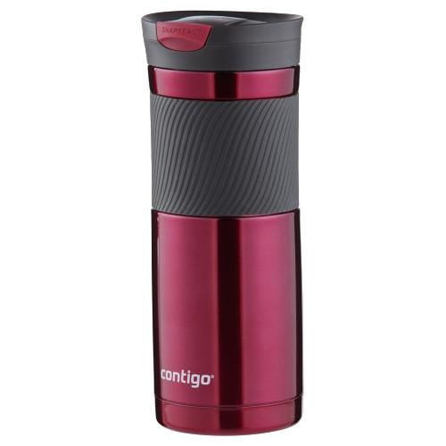 Contigo SnapSeal Byron Stainless Travel Mug (20 fl oz, Vivacious)