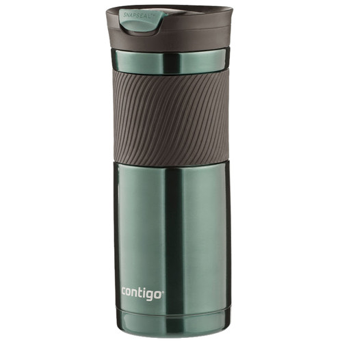 Contigo SnapSeal Byron Stainless Travel Mug (20 fl oz, Grayed Jade)