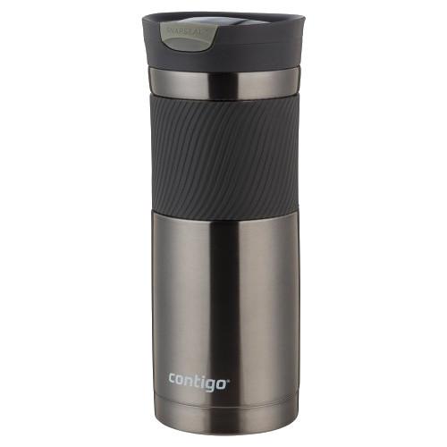 Contigo SnapSeal Byron Stainless Travel Mug (20 fl oz, Gunmetal)