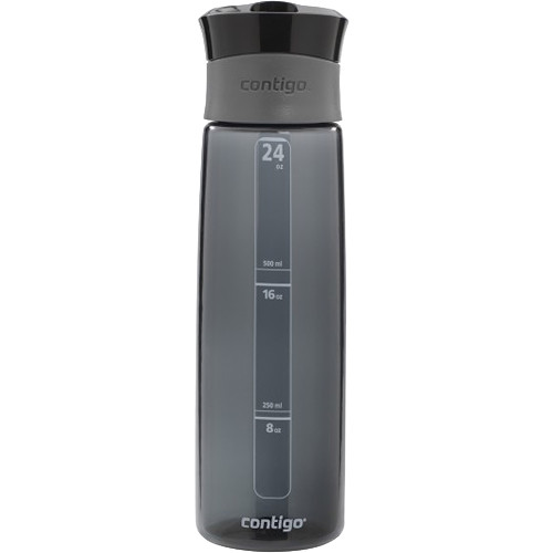 Contigo Autoseal Madison Water Bottle (24 fl oz, Charcoal)