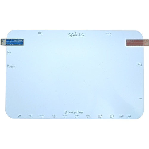 Convergent Design Replacement Screen Protector for Apollo Monitor (Standard)