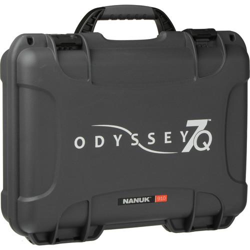 Convergent Design Nanuk Carry Case with Custom Cut-Out Foam for Odyssey 7 / 7Q / 7Q+