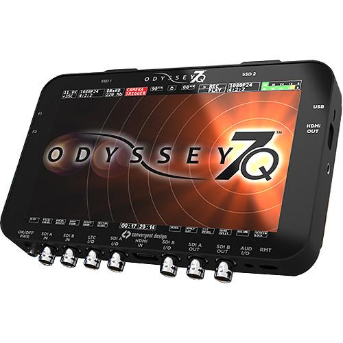 Convergent Design Odyssey7Q Raw OLED Monitor & Recorder