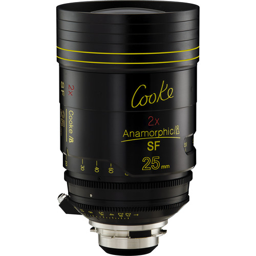 Cooke 25mm T2.3 Anamorphic/i SF Prime Lens (PL Mount)