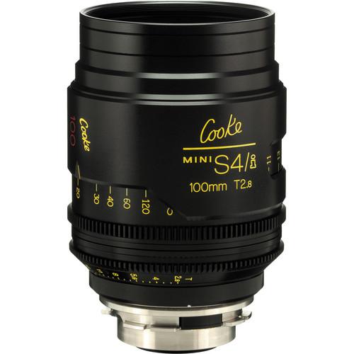Cooke 100mm T2.8 miniS4/i Cine Lens (Feet)