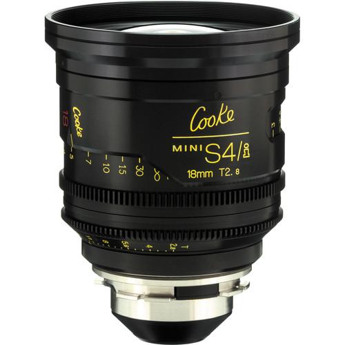 Cooke 18mm T2.8 miniS4/i Cine Lens (Meters)