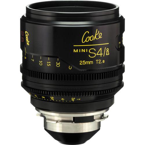 Cooke 25mm T2.8 miniS4/i Cine Lens (Meters)