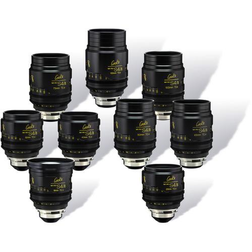 Cooke miniS4/i Cine Lens Set of Nine Lenses, 18 to 135mm (Meters)