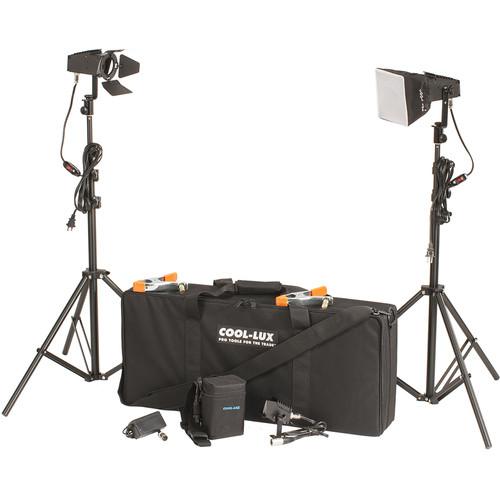 Cool-Lux LK2256 Mini-Cool AC/DC Video Travel Kit