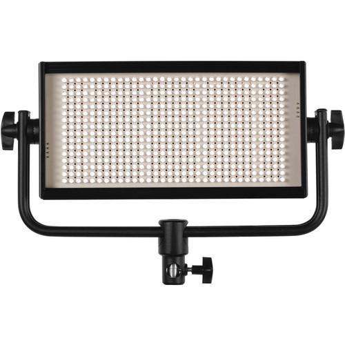 Cool-Lux CL500DSG Daylight PRO Studio LED Spot Light with Gold Mount Battery Plate