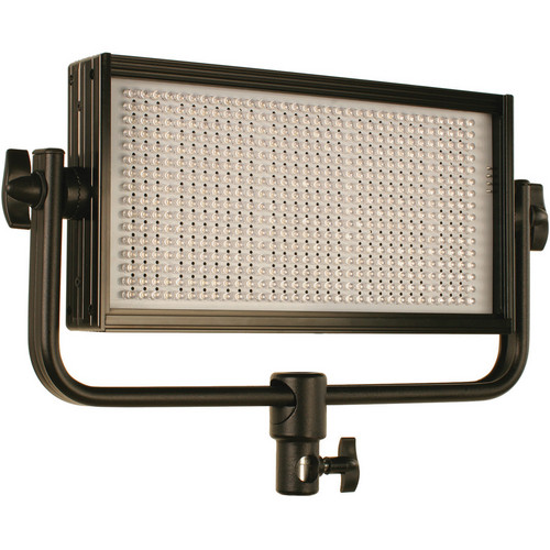 Cool-Lux CL500DFG Daylight PRO Studio LED Flood Light with Gold Mount Battery Plate