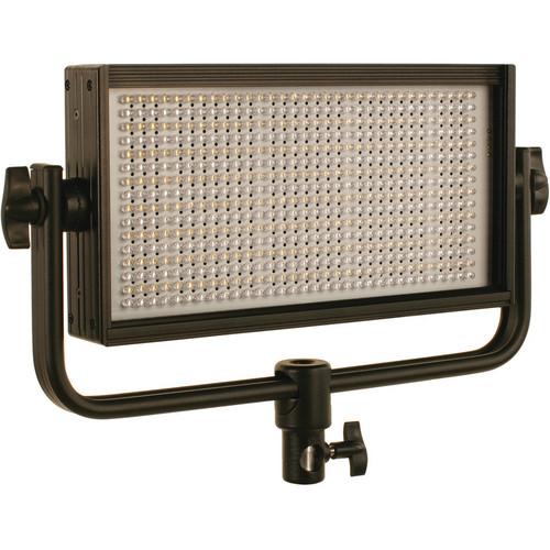 Cool-Lux CL500BSG Bi-Color PRO Studio LED Spot Light with Gold Mount Battery Plate