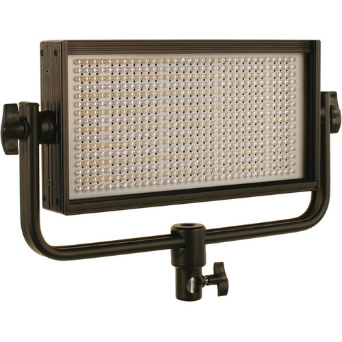 Cool-Lux CL500BFG Bi-Color PRO Studio Flood LED Light with Gold Mount Battery Plate