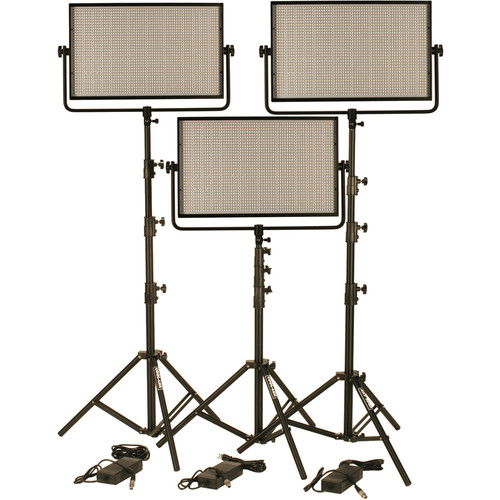 Cool-Lux CL36000BSX Bi-Color PRO Studio LED Spot 3-CL2000BSX Kit with DMX