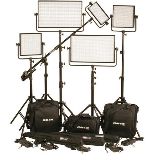 Cool-Lux CL5-6500DSX Daylight PRO Studio LED Spot 1-CL500DSX, 2-CL1000DSX, CL2000DSX Kit with DMX