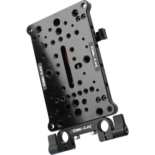 Cool-Lux Universal Cheese Plate and V-Mount Battery Plate Kit