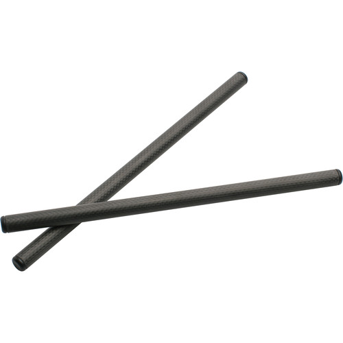 "Cool-Lux 15mm Carbon Fiber Iris Rod (Pair, 12"")"
