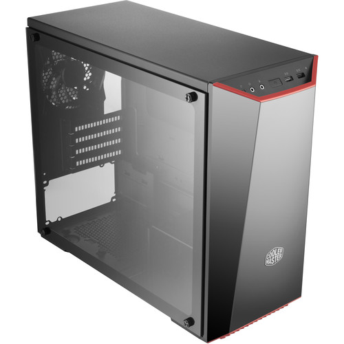 Cooler Master Masterbox Lite 3.1 Tg Computer Case with Tempered Glass Side Panel