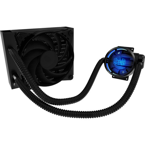 Cooler Master MasterLiquid Pro 120 All-In-One (AIO) Liquid Cooler with Dual Chamber Design
