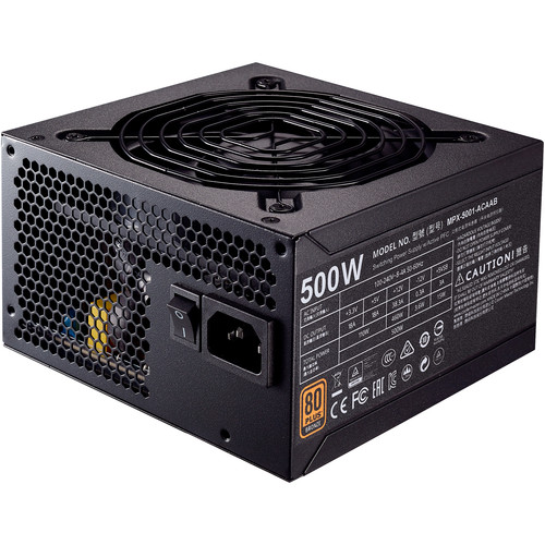 Cooler Master MWE Bronze 500 500W 80 PLUS Bronze Certified Power Supply