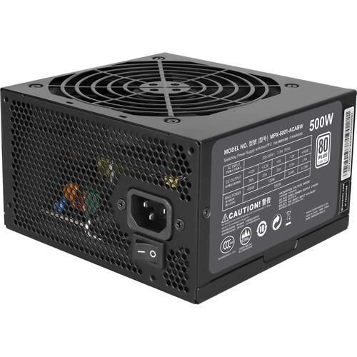 Cooler Master MasterWatt 500 Lite Full Range Power Supply Unit (500W)