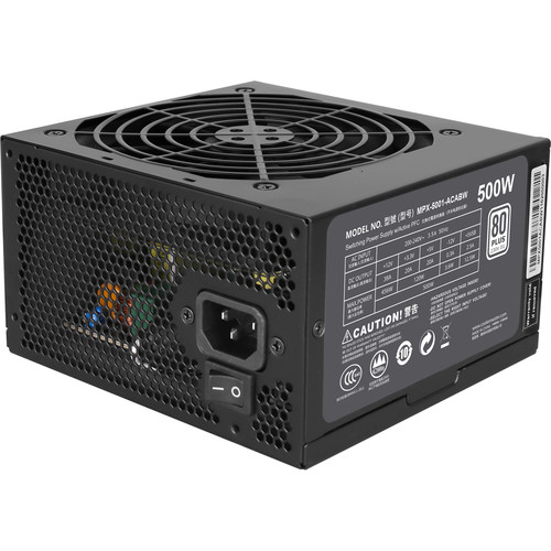 Cooler Master MasterWatt Lite 500 Full Range Power Supply Unit (500W)