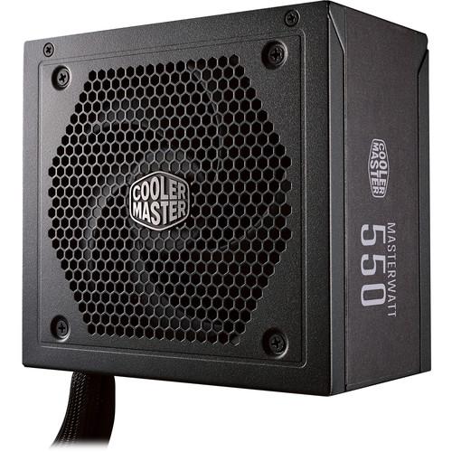 Cooler Master MasterWatt 550 550W 80 Plus Bronze Semi-Modular Power Supply