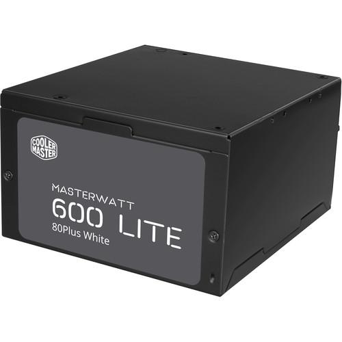 Cooler Master MasterWatt 600 Lite Full Range Power Supply Unit (600W)