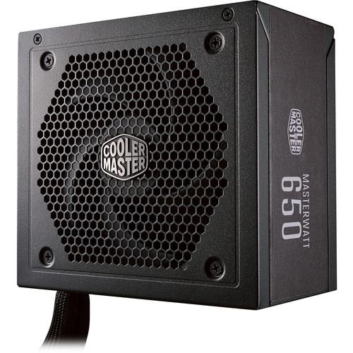 Cooler Master MasterWatt 650 650W 80 Plus Bronze Semi-Modular Power Supply