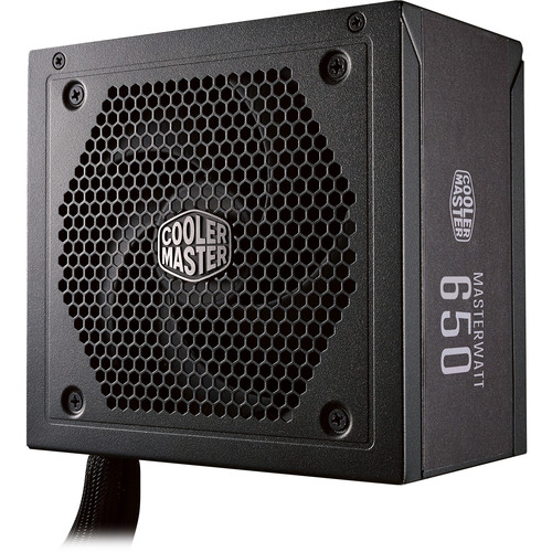 Cooler Master MasterWatt 650 650W 80 Plus Bronze Semi-Modular Power Supply