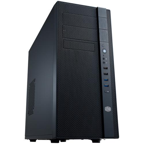 Cooler Master Mid Tower Micro-ATX/ATX Computer Case (Midnight Black)