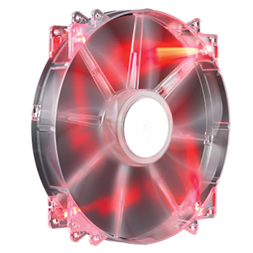 Cooler Master MegaFlow 200mm Red LED Silent Fan