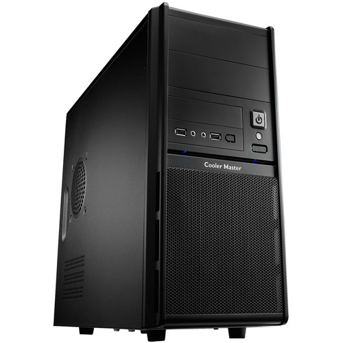 Cooler Master Elite 342 Mini-Tower Computer Case with 420W Power Supply (Black)