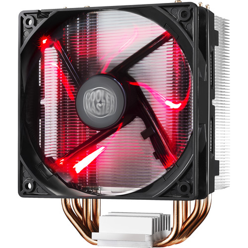 Cooler Master Hyper 212 LED CPU Cooler (Red LED Fan)