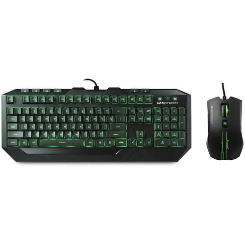 Cooler Master Devastator Green LED Gaming Mouse and Keyboard Combo