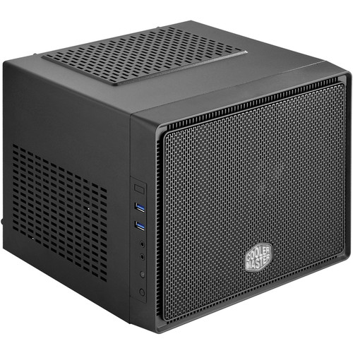 Cooler Master Elite 110 mini-ITX Computer Case (Midnight Black)