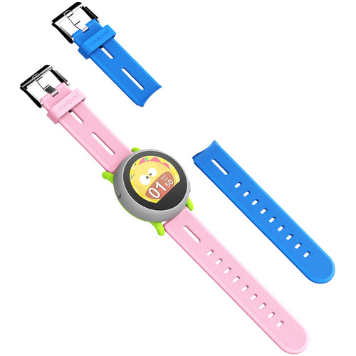 Coolpad Dyno Smartwatch (Gray, Royal Blue & Baby Pink Bands)