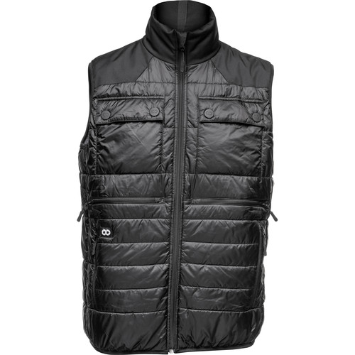 COOPH Heatable Photo Vest (Black/Anthracite, Medium)