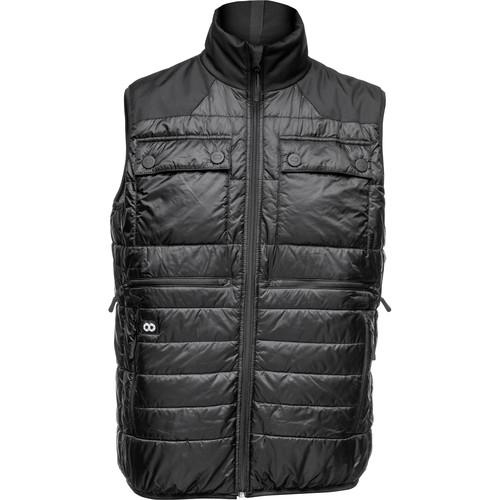 COOPH Heatable Photo Vest (Black/Anthracite, Xtra Large)