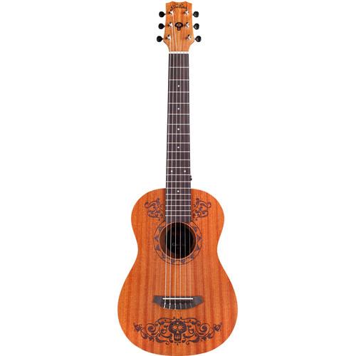 Cordoba Disney-Pixar Coco X Mini MH Nylon-String Classical Guitar (Laser-Etched Coco Design)