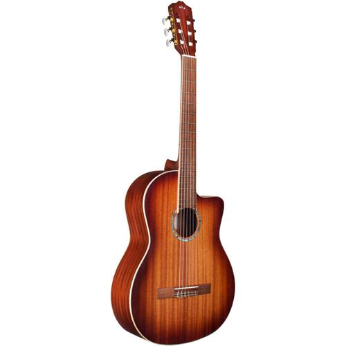 Cordoba C4-CE Iberia Series Nylon Acoustic-Electric Guitar (Edgeburst Finish)