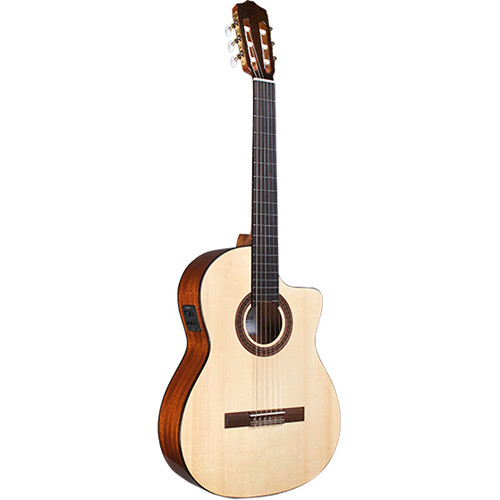 Cordoba C5-CE SP Iberia Series Nylon-String Acoustic/Electric Guitar (High Gloss)